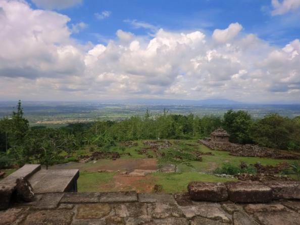 Kota Jogja dari candi (dok. klosetide)