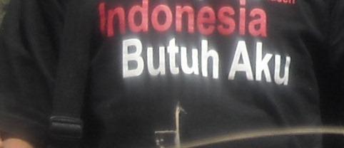 Indonesia Butuh Aku (dok. klosetide)