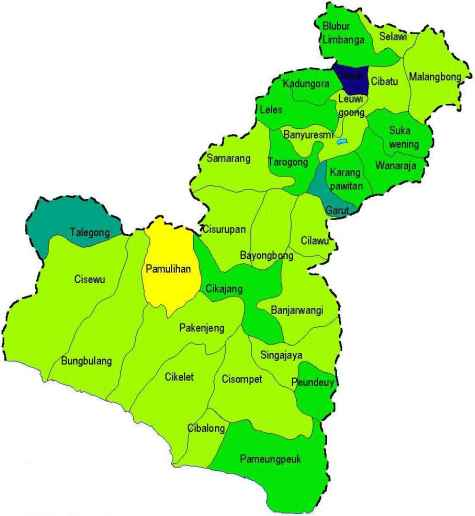 Peta Garut Selatan (dok. garutselatanonline.com)