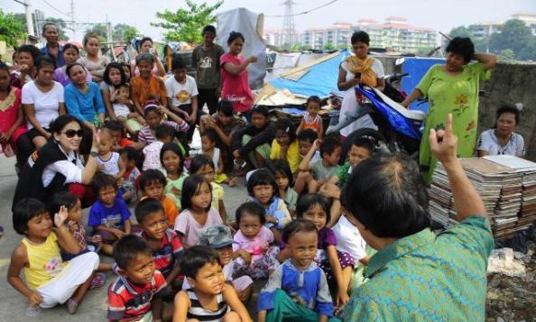 Kegembiraan Kak Seto dan Anak-anak (dok merdeka dot com)