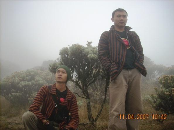 Di Mandalawangi (dok klosetide)